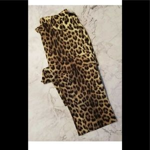 Moschino cheap and chic leopard sz 10 pants